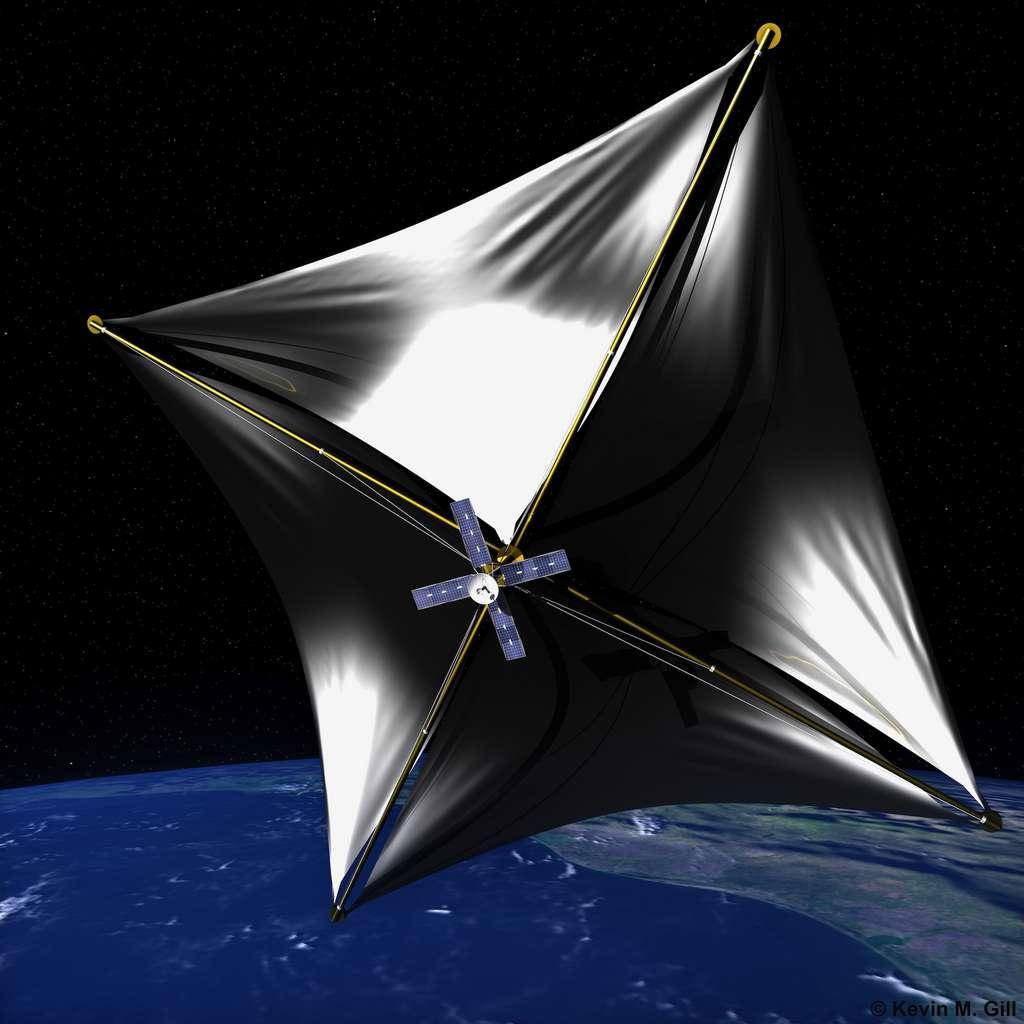 Le projet Breaktrhough Starshot prévoit d'envoyer des sondes spatiales du côté d'Alpha Centauri, le système stellaire le plus proche de notre Système solaire. Objectif : y découvrir des traces de vie extraterrestre. C'est peine perdue, à en croire les chercheurs de Georgia Tech. © Kevin Gill, Wikipedia, CC by-SA 2.0