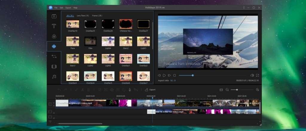 Simplicité. L'onglet Export permet d'accéder à l'outil pour convertir dans tous les formats vidéos du moment. © EaseUS