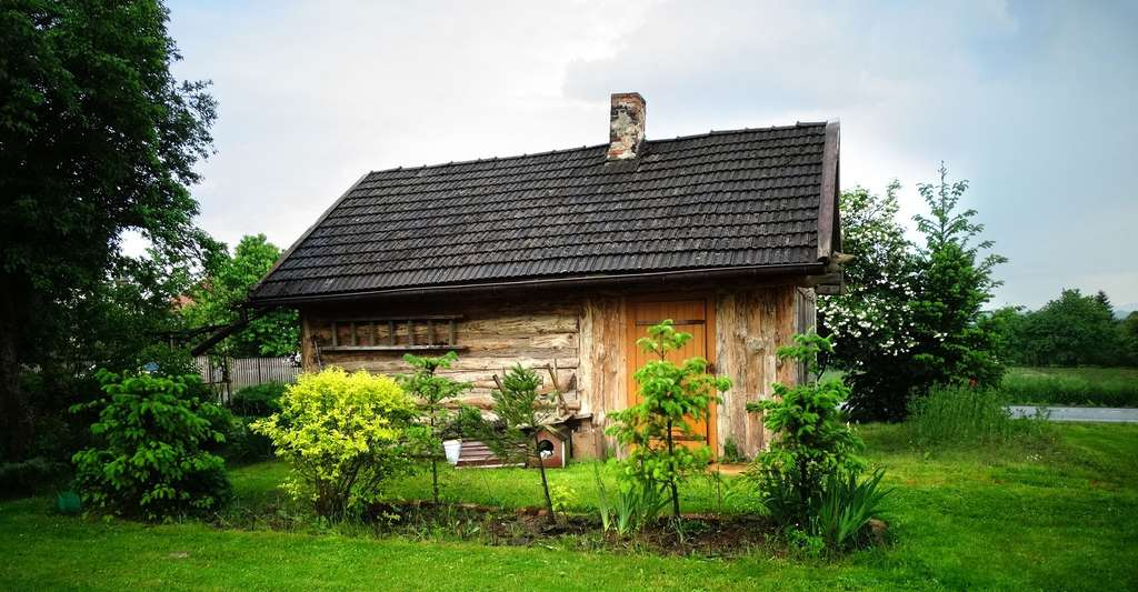 Maison en bois. © Gabrysia2gzg, Pixabay, DP