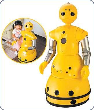 Wakamaru, le robot domestique. © Mitsubishi