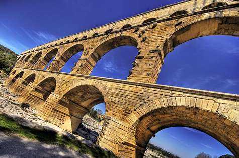 Pont du Gard. © Wolfgang Staudt, Creative Commons Attribution 2.0 Generic