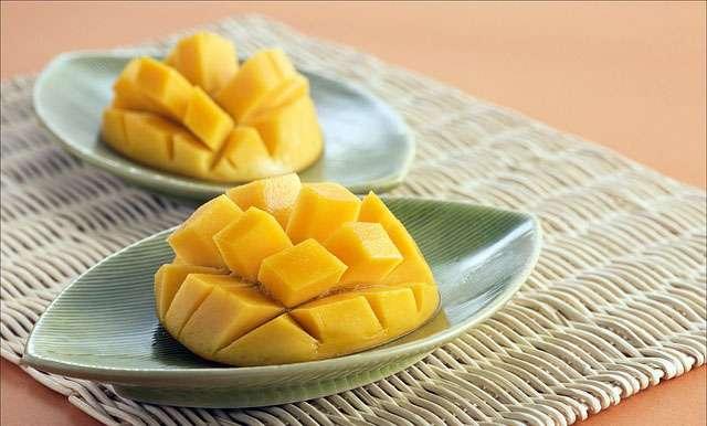 La mangue, un fruit excellent pour la peau. © Liwanchun, Pixabay, DP