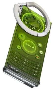Le téléphone portable pliant Morph. Crédit : Nokia