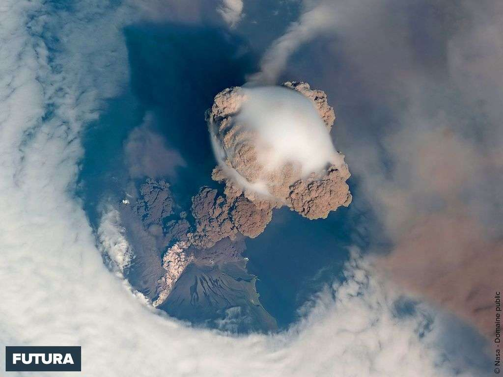 Volcan Sarytchev - Kuri Islands