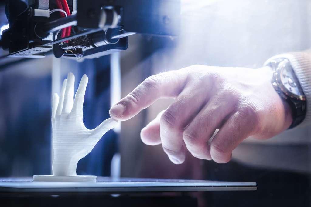 L'impression 3D révolutionne l'industrie. © fotofabrika, Adobe Stock