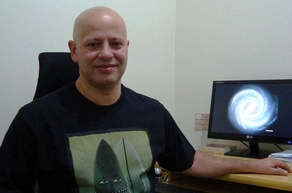 L'astronome Denilso Camargo, grand chasseur d'amas stellaires. © Denilso Camargo