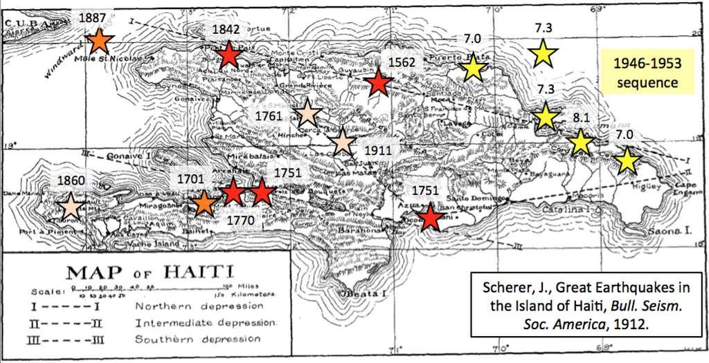 On doit au Père Scherer (1858-1926) les premiers travaux scientifiques sur les tremblements de terre en Haïti. © Père Scherer, Observatoire du Petit séminaire du Collège Saint Martial