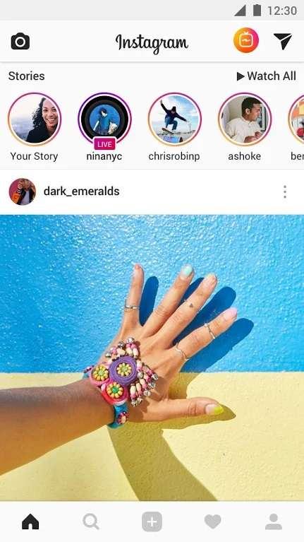 Instagram est un réseau social grand public dédié à la photo, il permet d'appliquer des filtres et de modifier facilement des images. © Instagram