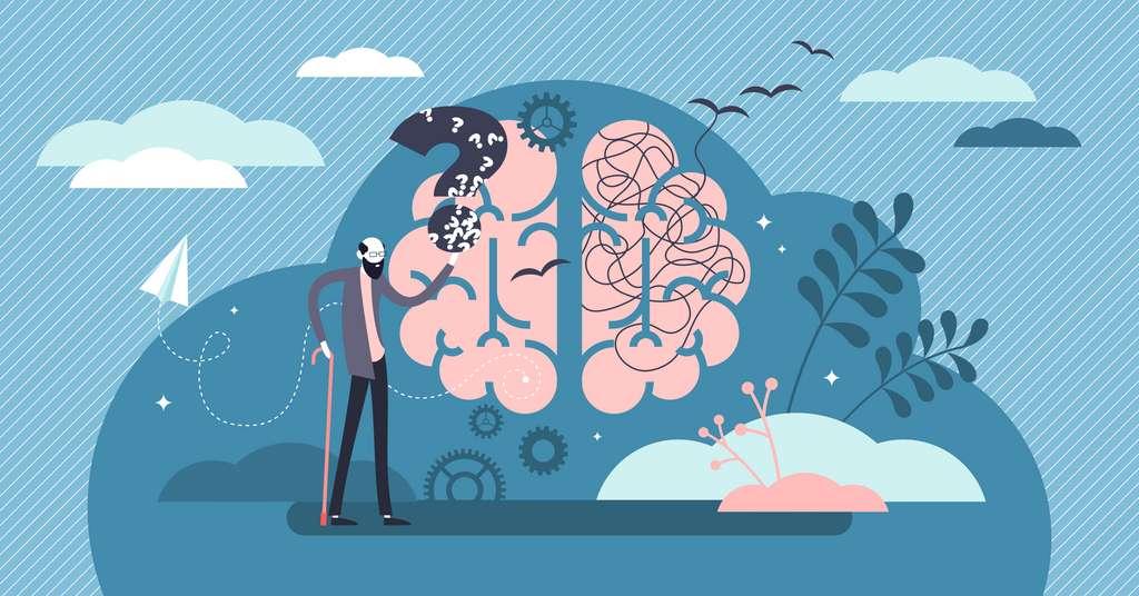 Des médicaments qui freinent ou inversent le vieillissement cellulaire ou les maladies neurodégénératives sont à l'étude. © VectorMine, Adobe Stock