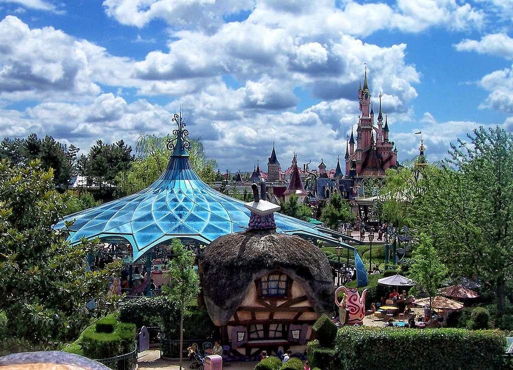 Disneyland Paris, en Seine-et-Marne. © Andrei Dan Suciu, Panoramio, Wikimedia Commons, CC by 3.0
