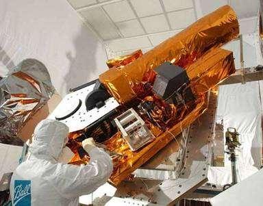 Le système de télescopes de Deep Impact. © Ball Aerospace