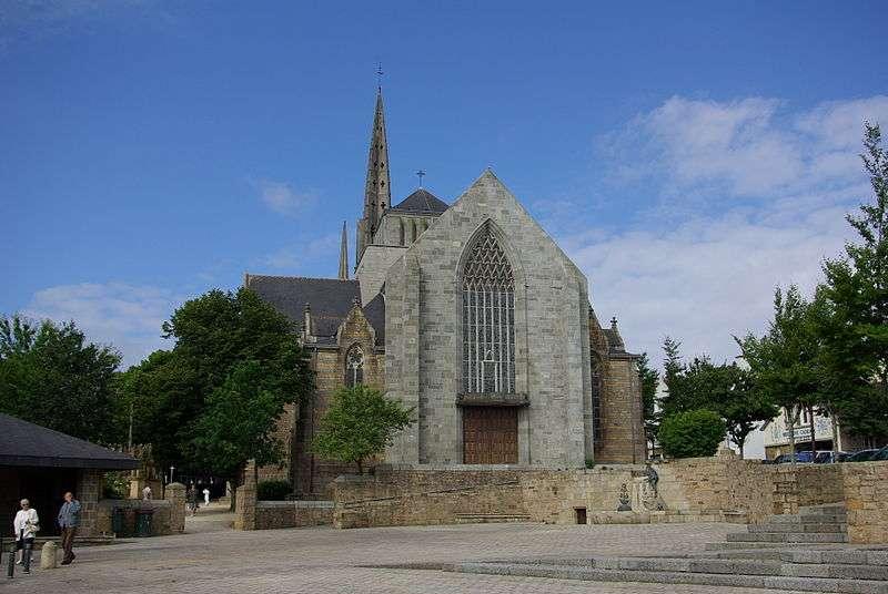 Église de Plougastel. © Duch.seb, Wikipédia