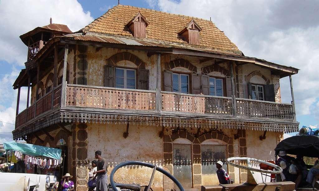 Maison traditionnelle malgache