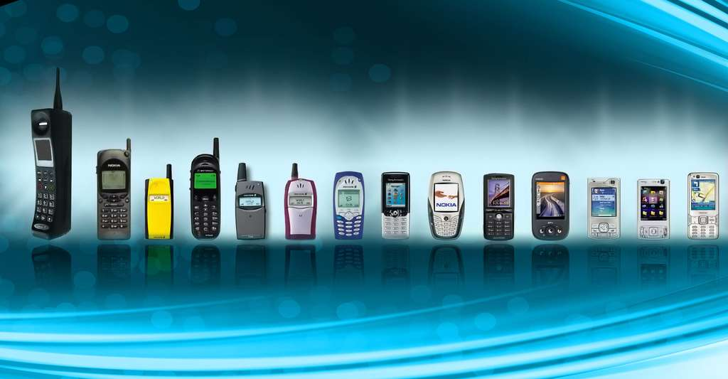 L'histoire du téléphone portable, des années 80 à nos jours. © KhE - CC BY-NC 2.0