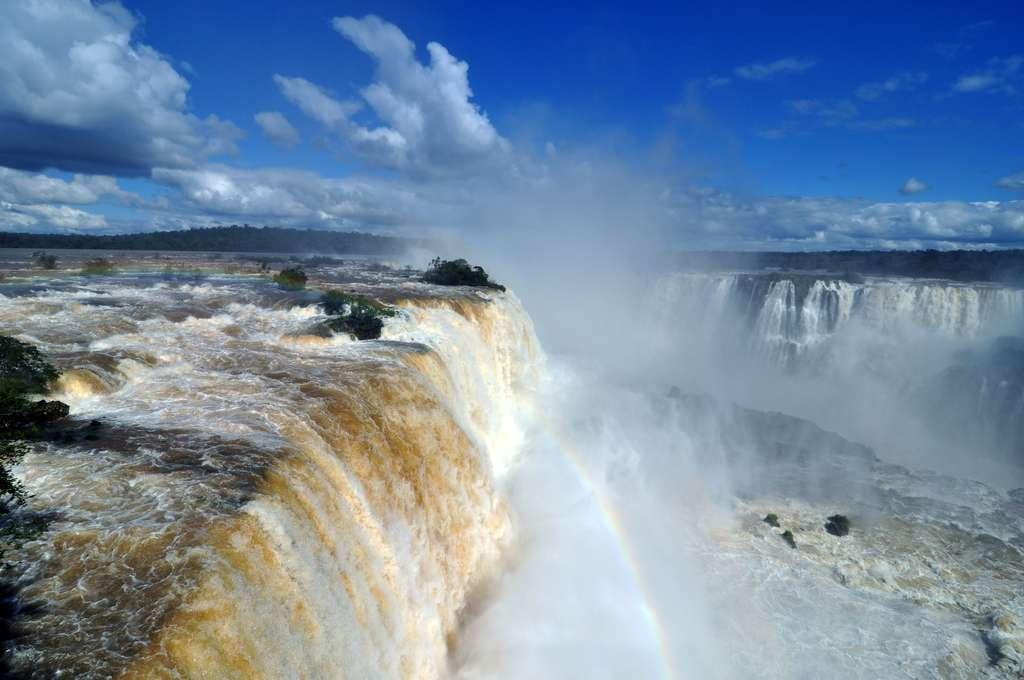 Les chutes d'Iguazú au Brésil