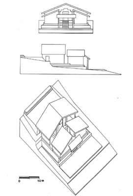 Fig. 19 : Reconstitution axonométrique de la structure © J. Guffroy IRD