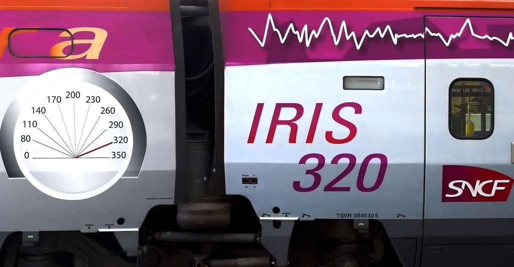 Dans le cadre du projet CORRIDOR, en partenariat avec IFSTTAR et la SNCF notamment, un train à grande vitesse IRIS320 est utilisé pour les expérimentations dans les environs de Chartres. © ignis GFDL,cc-by-sa-2.5,2.0,1.0