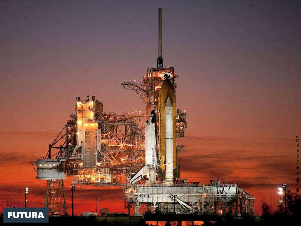 La navette spatiale Atlantis Centre spatial Kennedy de la NASA