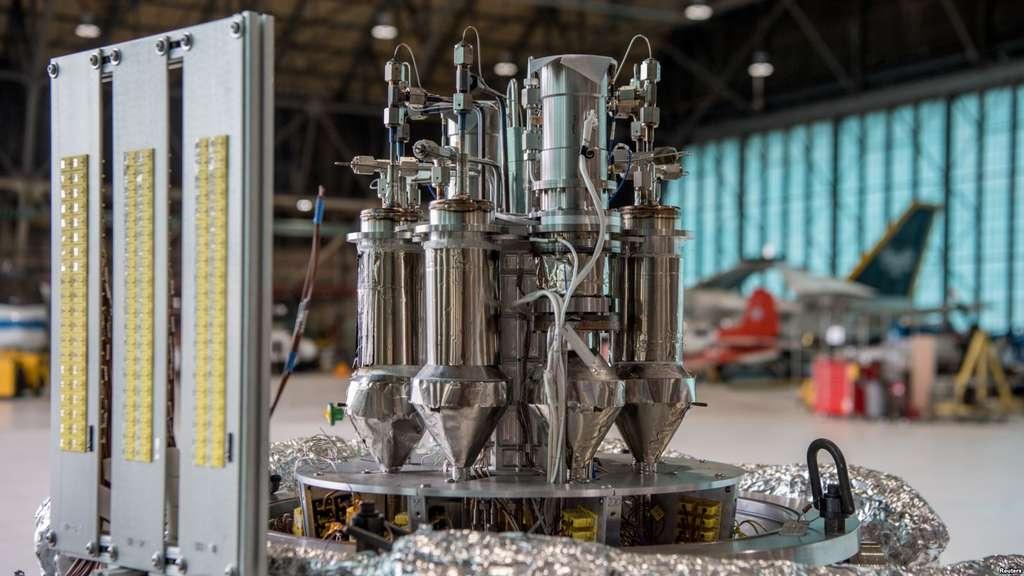 Le système Kilopower : une source d'énergie abondante et fiable pour les futures missions spatiales. © Nasa