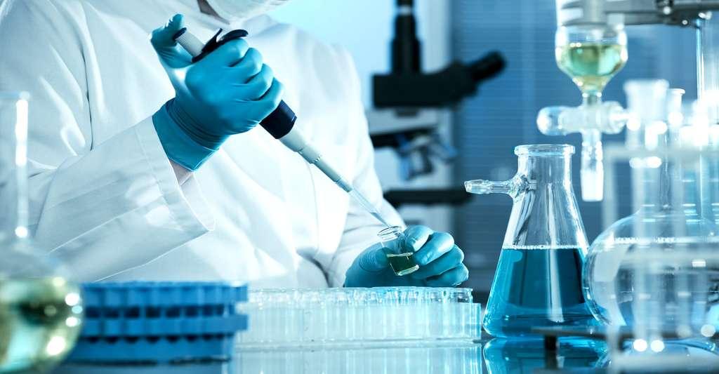 Laboratoire de biologie cellulaire. © Unsplash CC0, Domaine public