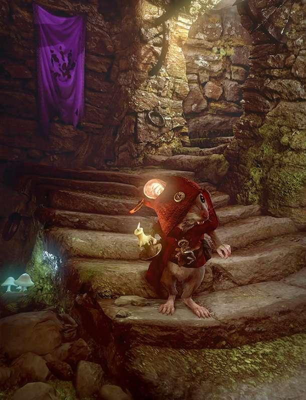 Accompagnez Tilo, petite souris adorable, dans ses aventures et faites en sorte qu'il puisse retrouver Merra, sa dulcinée. © Ghost of a Tale