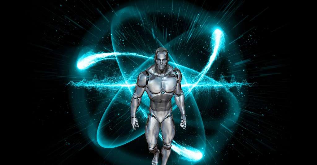 Homme bionique. © DrSJS - Domaine public