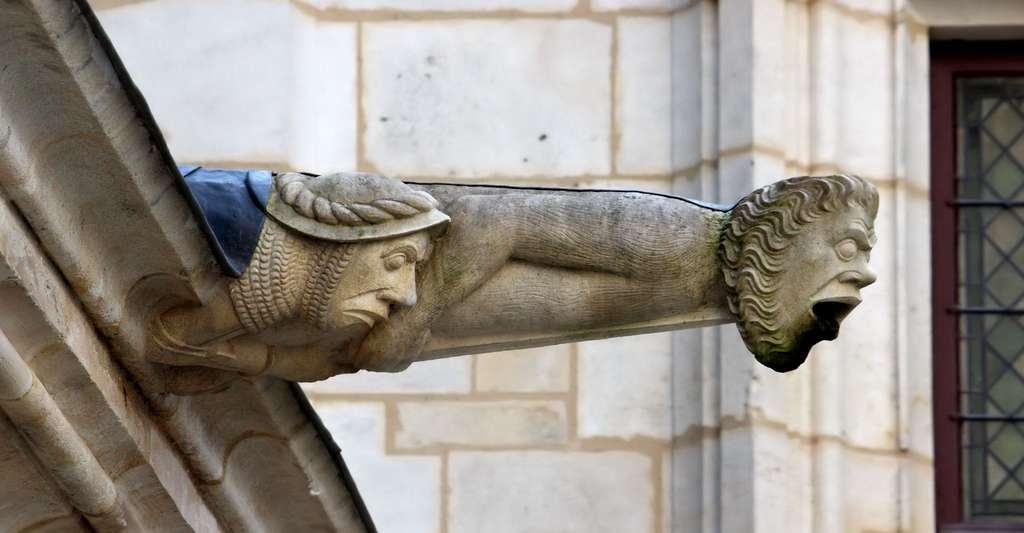 Gargouille du palais de Jacques Coeur, Bourges (Cher). © Michel Wal, Wikimedia commons, CC by-sa 3.0