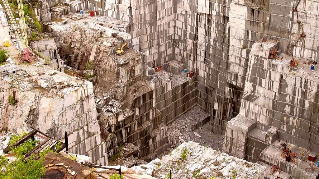 La mine de granit de South Barre, aux États-Unis