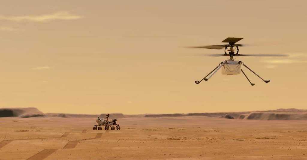 La mission d'Ingenuity pourrait durer plusieurs mois encore. © Nasa, JPL-Caltech
