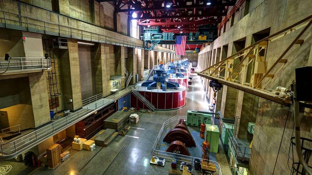 La centrale hydroélectrique du barrage Hoover