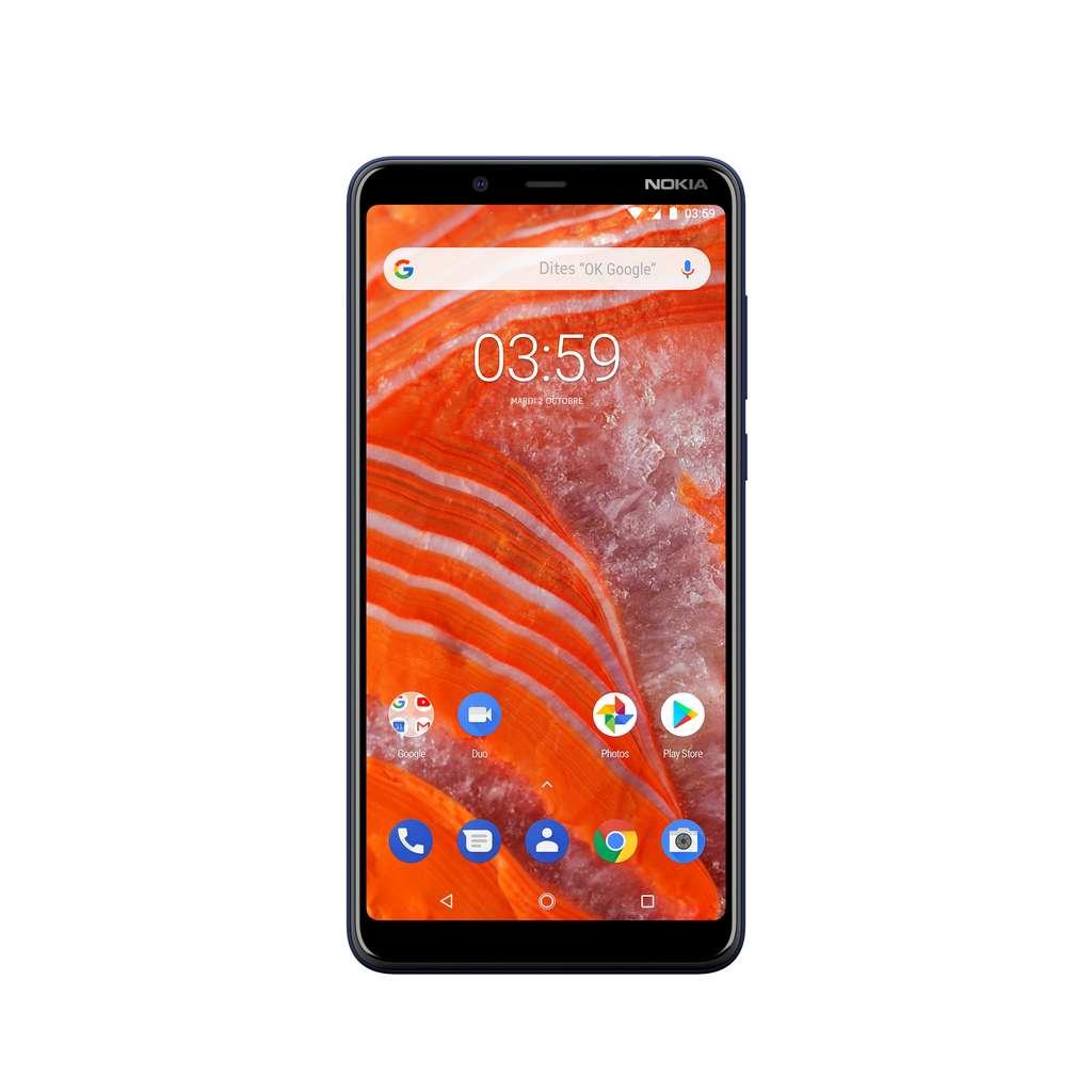 Épuré, Android One est l'un des principaux atouts fiabilités et performances du Nokia 5.1 Plus. Le mobile s'en tire également très bien au niveau de l'autonomie. © HMD Global
