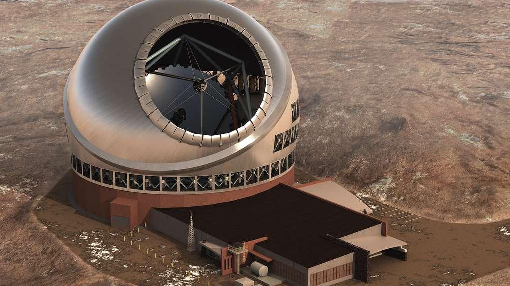 Le télescope de trente mètres ou TMT
