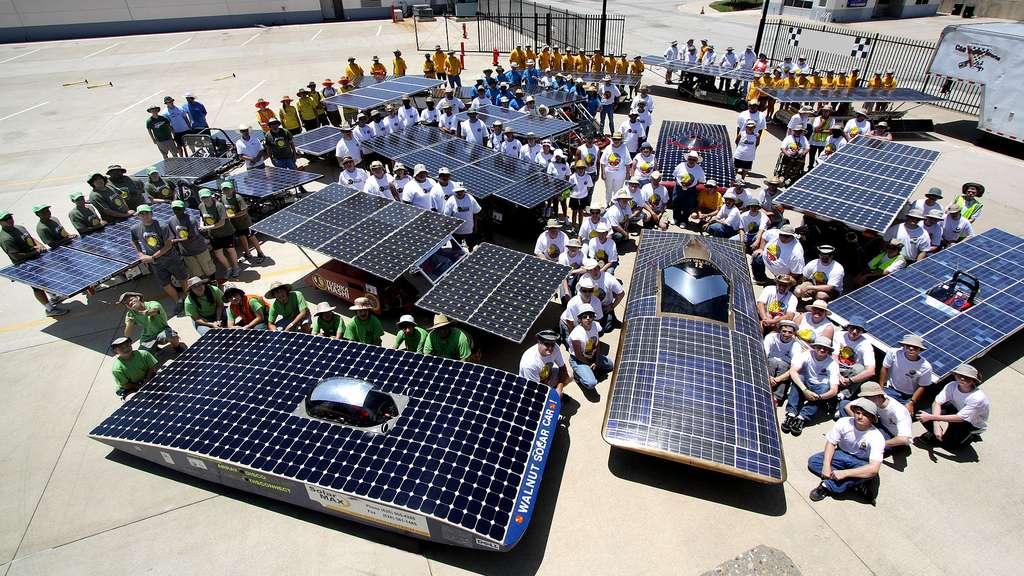 Le Solar Car Challenge, une course de voitures solaires