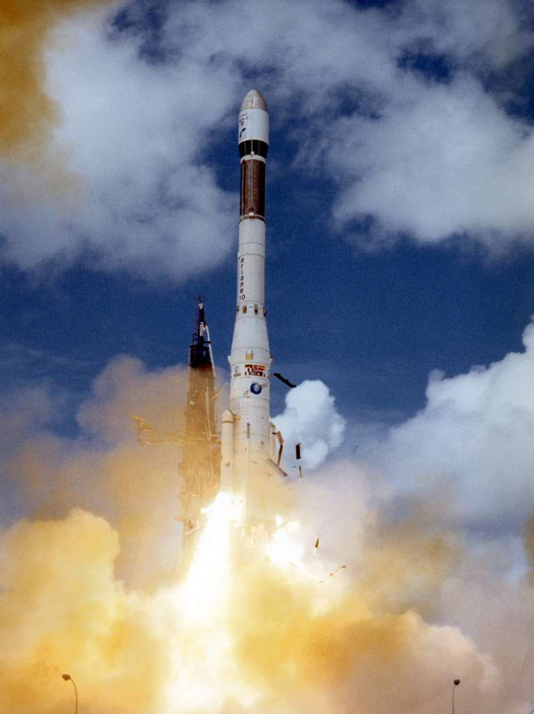 Ariane 3, premier vol