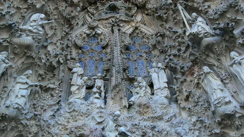 La Sagrada Familia retrace l'histoire de la foi
