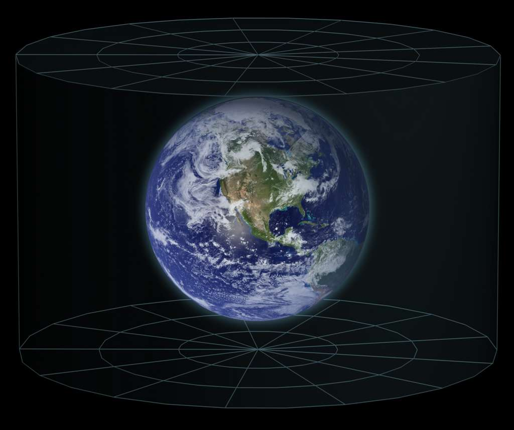 Oui, la Terre est ronde ! © Frederic Michel, Wikimedia commons, CC 3.0