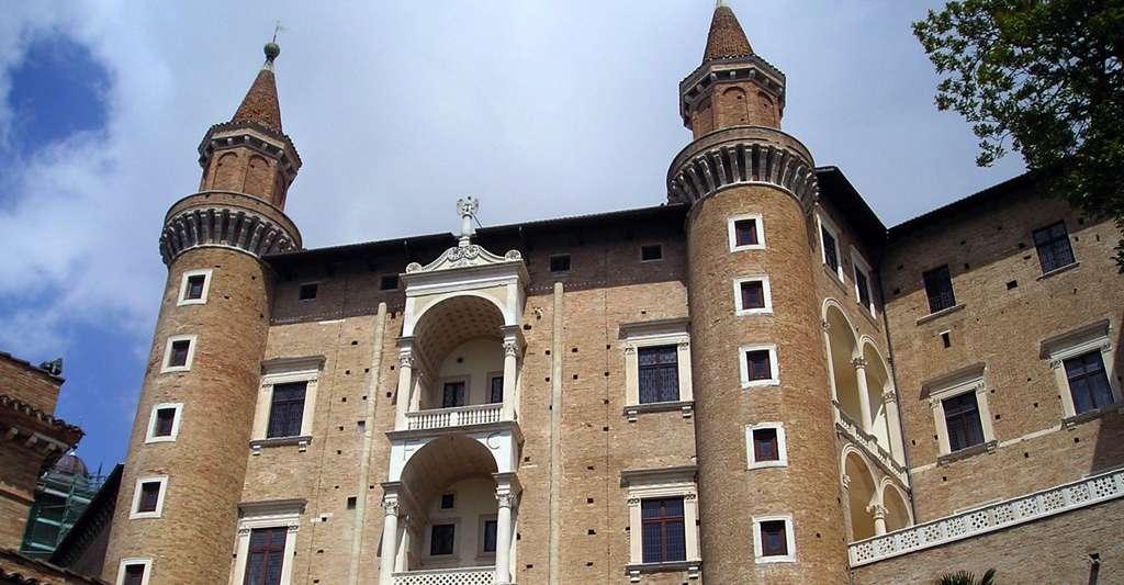 Le Palazzo Ducale d'Urbino, en Italie