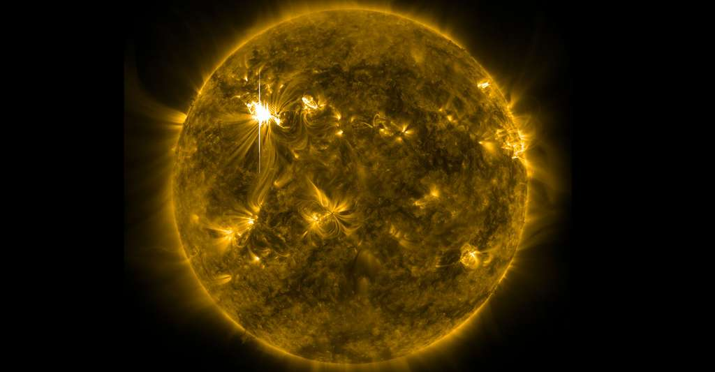 Comment fonctionnent les jets solaires ? © Nasa, Goddard Space Flight Center, Wikimedia commons, DP