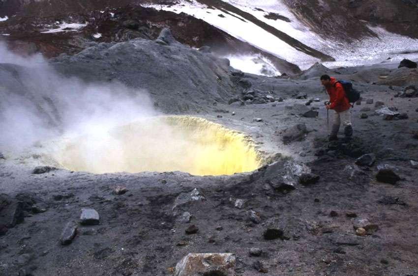 Le volcan Mutnovsky, en Extrême-Orient russe