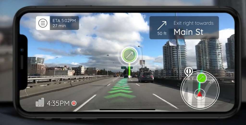 For autonomous navigation systems or in smart cities, it is essential that the objects can communicate with each other.  Even when GPS coverage is poor or non-existent.  © Phiar