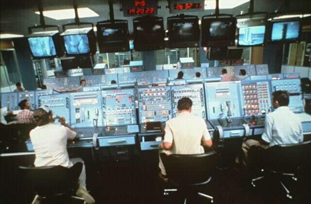 La salle du contrôle