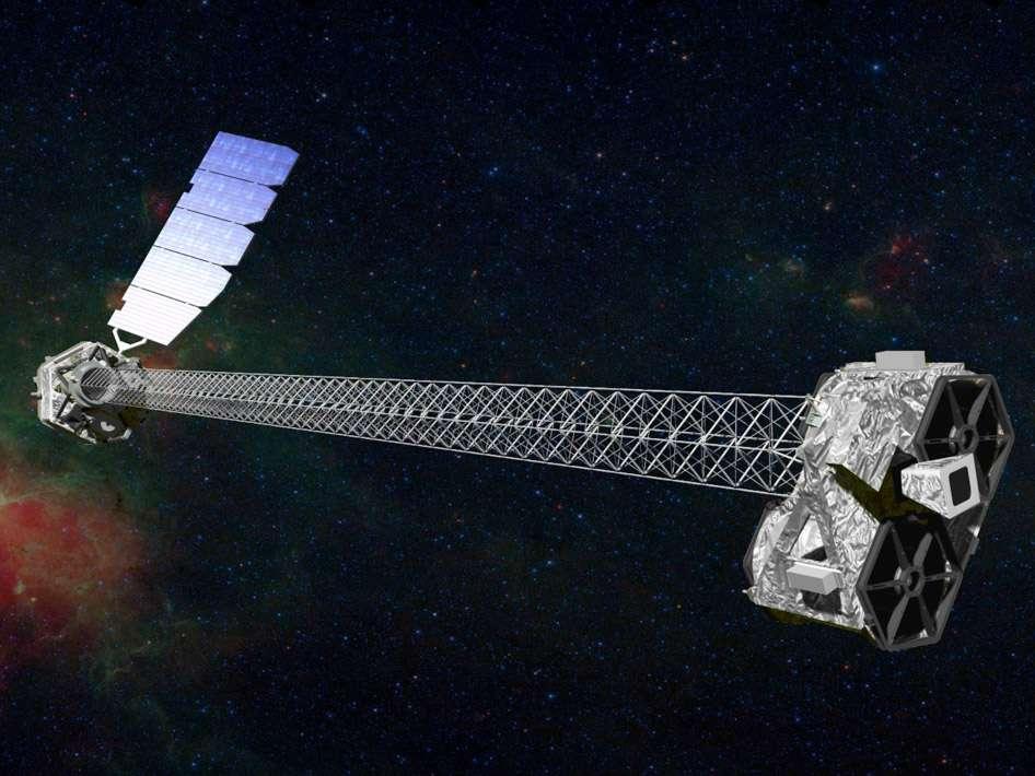 Construit autour de la plateforme LeoStar-2 d'Orbital Sciences, ce satellite de 360 kg doit tourner autour de la Terre sur une orbite circulaire à plus de 550 km d'altitude et inclinée à 6°. © Nasa/JPL-Caltech