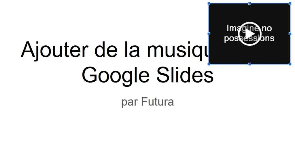 Ajustez le placement de la fenêtre du clip vidéo. © Google Inc.