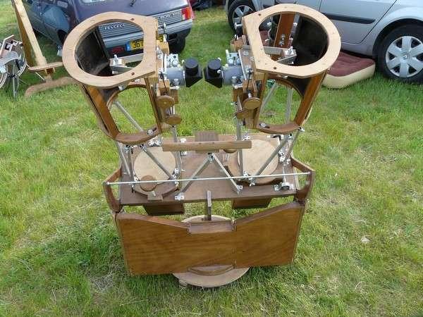 Un double télescope