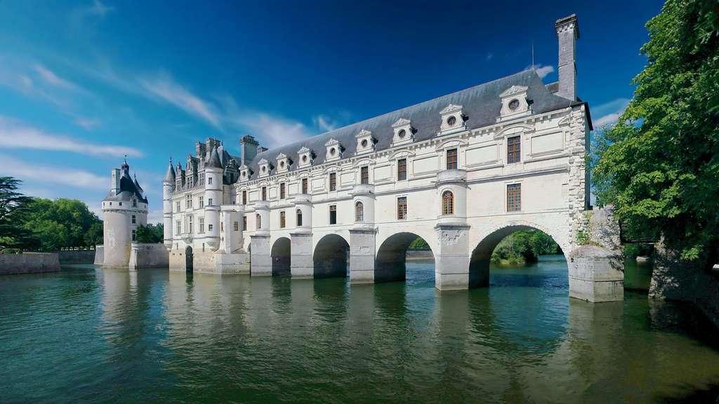 Le château de Chenonceau, le plus féminin