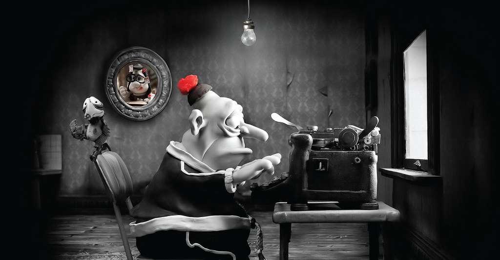 Max Horowitz, héros de pâte à modeler du film Mary & Max, très malheureux avec son syndrome d'Asperger. © Impawards.com