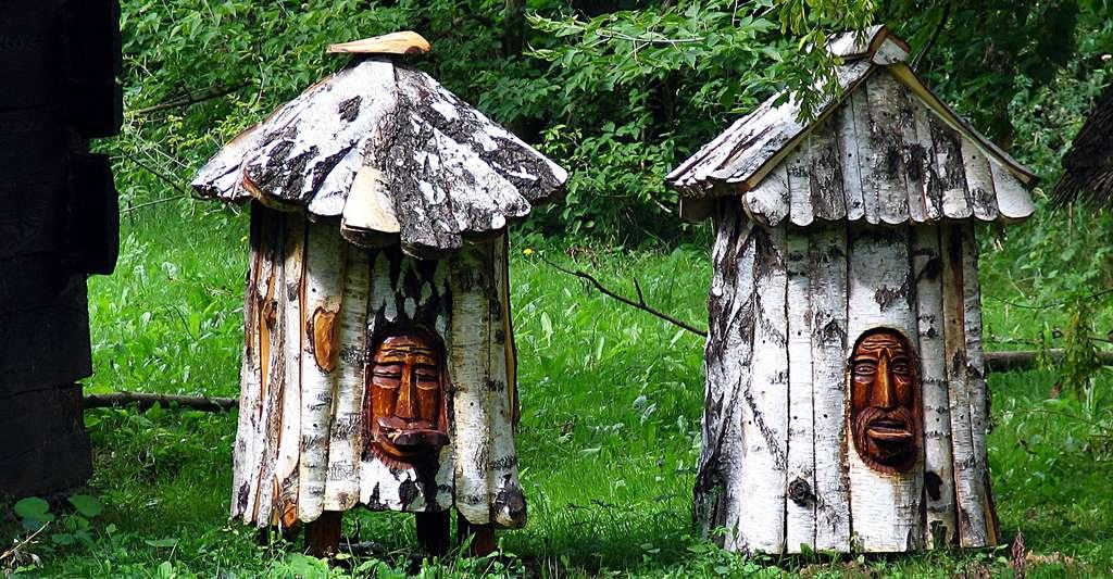 Ruches en bois. © JerzyGorecki, CCO