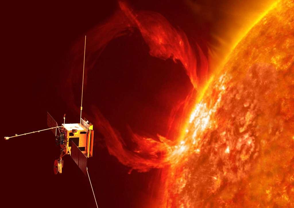 Des sondes qui espionnent le Soleil