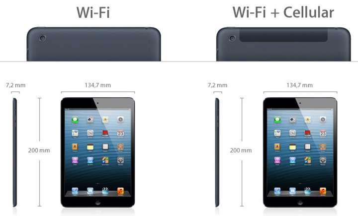 « À part les centimètres, il ne manque rien », argumente Apple à propos de l'iPad mini. La tablette 7,9 pouces est positionnée comme un concentré d'iPad qui ne rogne en rien sur les performances et l'autonomie. © Apple