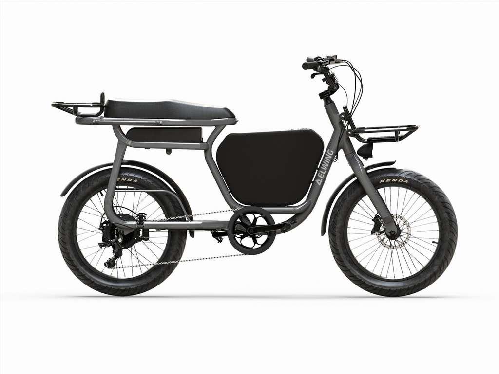 Le Yuvy peut être accessoirisé de manière à augmenter sa capacité de transport. © Elwing